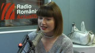 Alexandra Ungureanu, la Radio Romania Actualitati