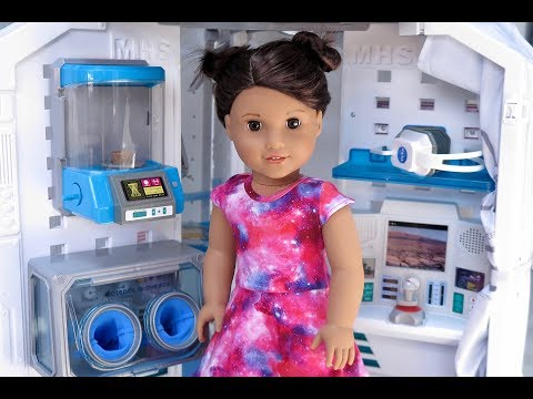 American Girl Doll Luciana Vega Mars Habitat ~GOTY 2018 ~ Opening, Review, Set up!