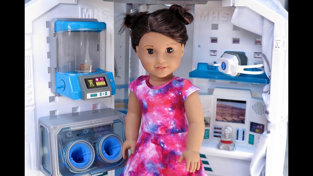 American Girl Lucianas Mars Habitat for 18-Inch Dolls