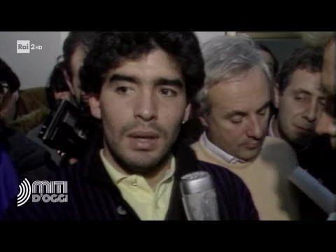 Diego Armando Maradona, l'idolo di Napoli - Miti d'oggi 20/08/2019