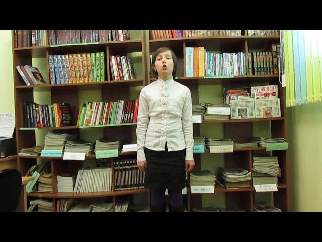 Изображение предпросмотра прочтения – АнастасияРоманцова читает отрывок изпроизведения «Крестьянские дети» Н.А.Некрасова