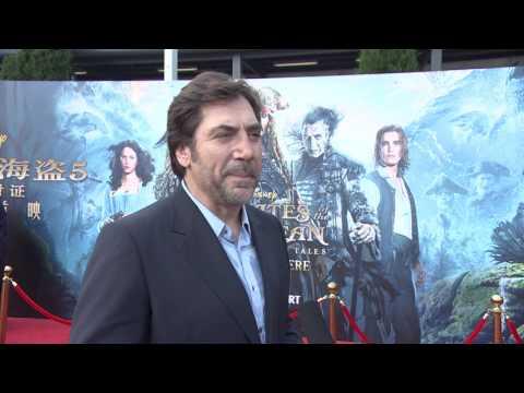 Pirates Of The Caribbean Dead Men Tell No Tales Shanghai Premiere Javier Bardem
