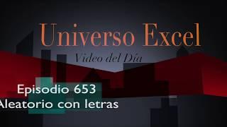 Episodio 653 - Aleatorio con letras