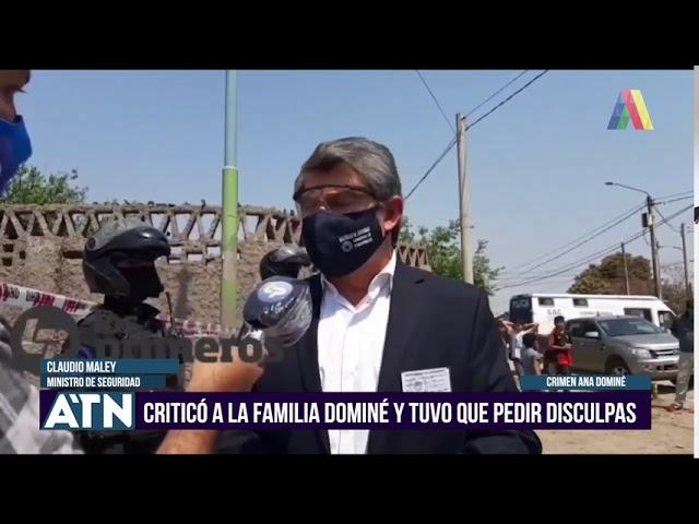 MALEY CRITICÓ A LA FAMILIA DOMINÉ Y TUVO QUE PEDIR DISCULPAS I ATN (17-09-2020)