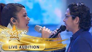Baper! Pasha X Tiara Bawakan Lagu [Terlanjur Cinta] | Live Audition | Rising Star Indonesia Dangdut