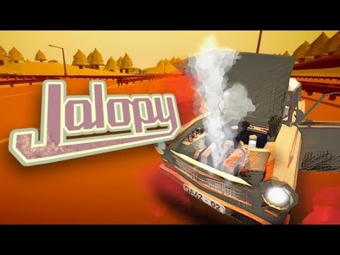 How do you leave the gas station?1?!  Jalopy |