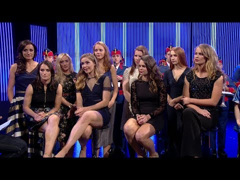 The Dublin Women's Football team arrive with the Brendan Martin Cup  | The Ray D'Arcy Show | RTÉ One