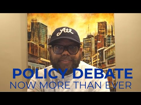 Policy Debate: Now More Than Ever---Ed Lee, Emory University