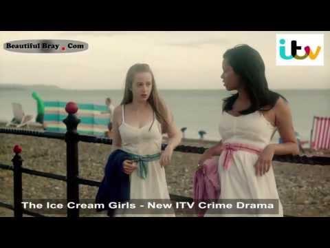 BeautifulBray.com  The Ice Cream Girls  ITV Crime Drama  Filmed on Bray Sea Front