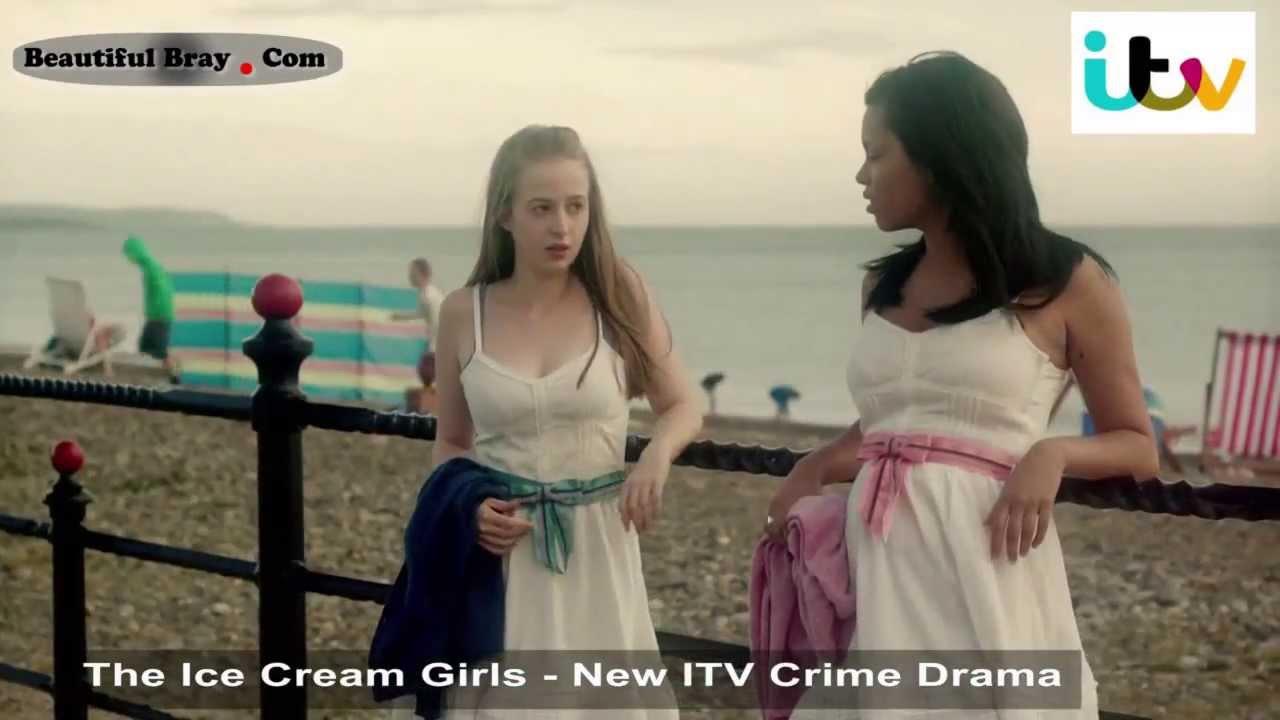BeautifulBray com - The Ice Cream Girls - ITV Crime Drama - Filmed on Bray  Sea Front