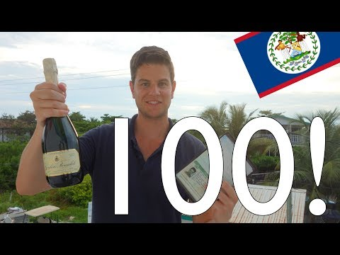 Visiting my 100th Country !!! Belize - Travel & Language