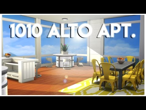 Sims 4 Apartment Build - 1010 Alto Apt.