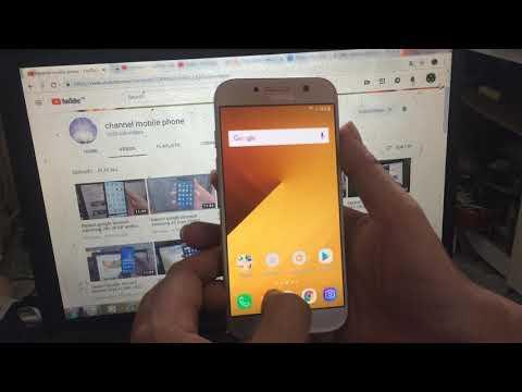 bypass google account samsung A520 android 8 - Thủ thuật máy tính
