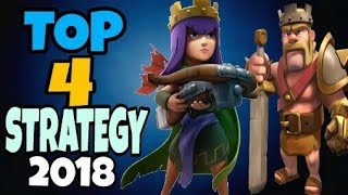 Top 4 Strategy for Th9 ! 2018 || Clash Of Clans || Dipankar Gaming