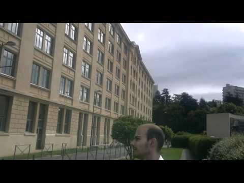 Um brasileiro em St Étienne - Visitando a Ecole des Mines de Saint-Étienne (parte 2)