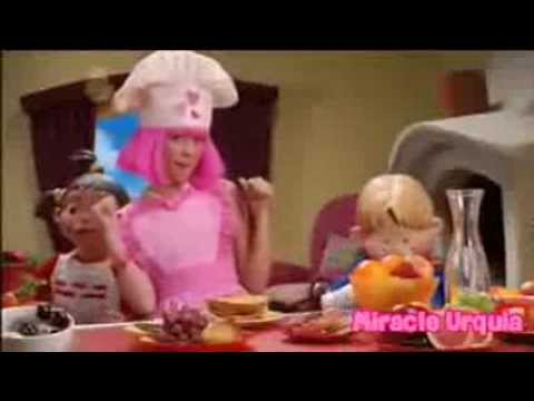 lazy town season 3 breakfast at stephanie (12 episode)