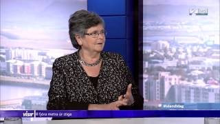 Ruth Dreifuss TV2 interview, Reykjavik May 21st 2015, by Heimir Már