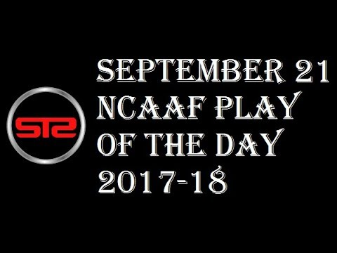 Week 4 - September 21, 2017 - College Football Pick of The Day - Today  NCAAF Picks ATS Tonight