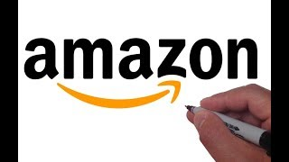 How to Draw the Amazon Logo