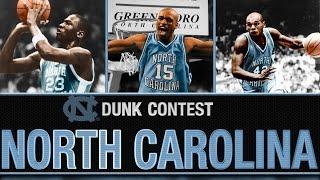 Better UNC Dunker: Michael Jordan, Jerry Stackhouse, Vince Carter?