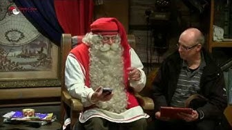 Joulupukin tervehdys Maanmittarikillalle!