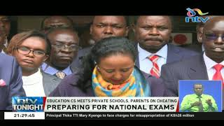 Education CS Amina Mohammed says all is set for KCPE and KCSE exams