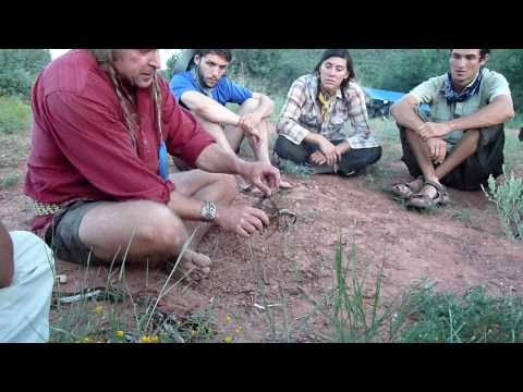 Dual Survival star Cody Lundin teaches Ecosa Institute students how to make fire