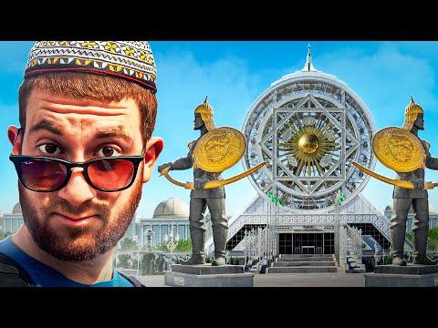 World's Strangest City (ASHGABAT, TURKMENISTAN)