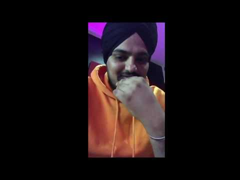 Just Listen | Sidhu Moose Wala | Sunny Malton | Byg Byrd | Live Song Reply