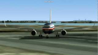 American Airlines ⎮ New York - Barcelona [FS2004]