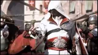 Black veiled brides in the end music video ft assassins creed