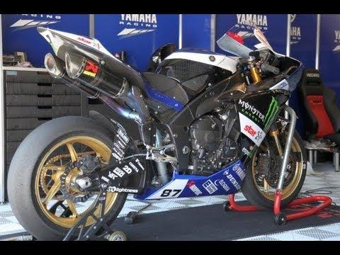 yamaha r1 racing bikes