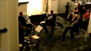 Christopher Norton: Jazz Quartet for Brass Ensemble