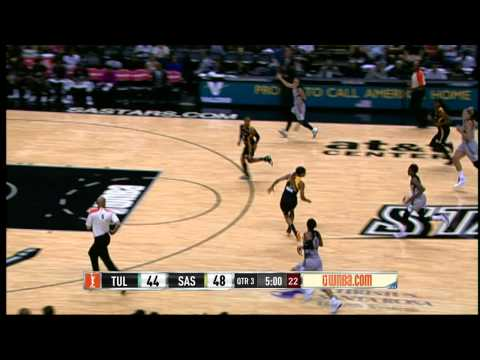 Game Recap: Tulsa Shock vs San Antonio Stars