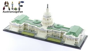 Lego Architecture 21030 United States Capitol Building - Lego Speed Build Review thumbnail