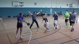 Handball-Abwehr Übungen Teil 1