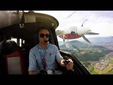 Formation Flight Partenavia68 (Forest Mapping Management Salzburg)