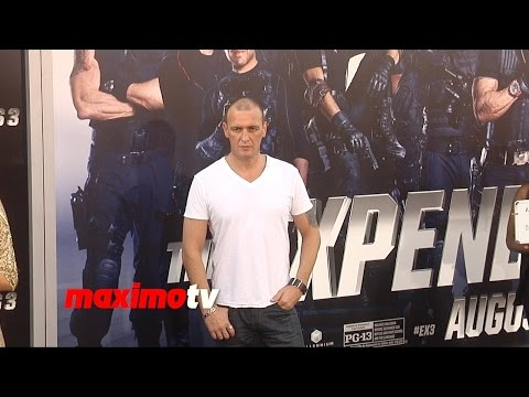 Alan O'Neill SONS OF ANARCHY  The Expendables 3  Los Angeles Premiere