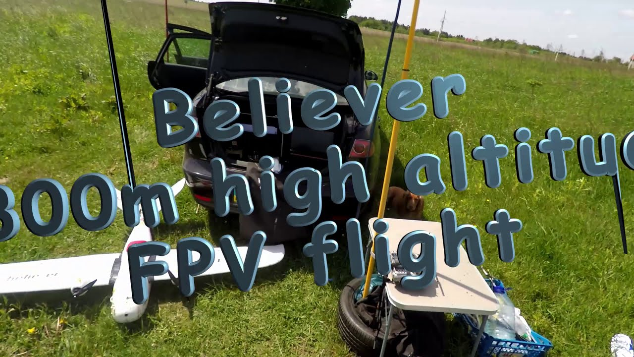 Believer - 7800m high altitude FPV flight картинки