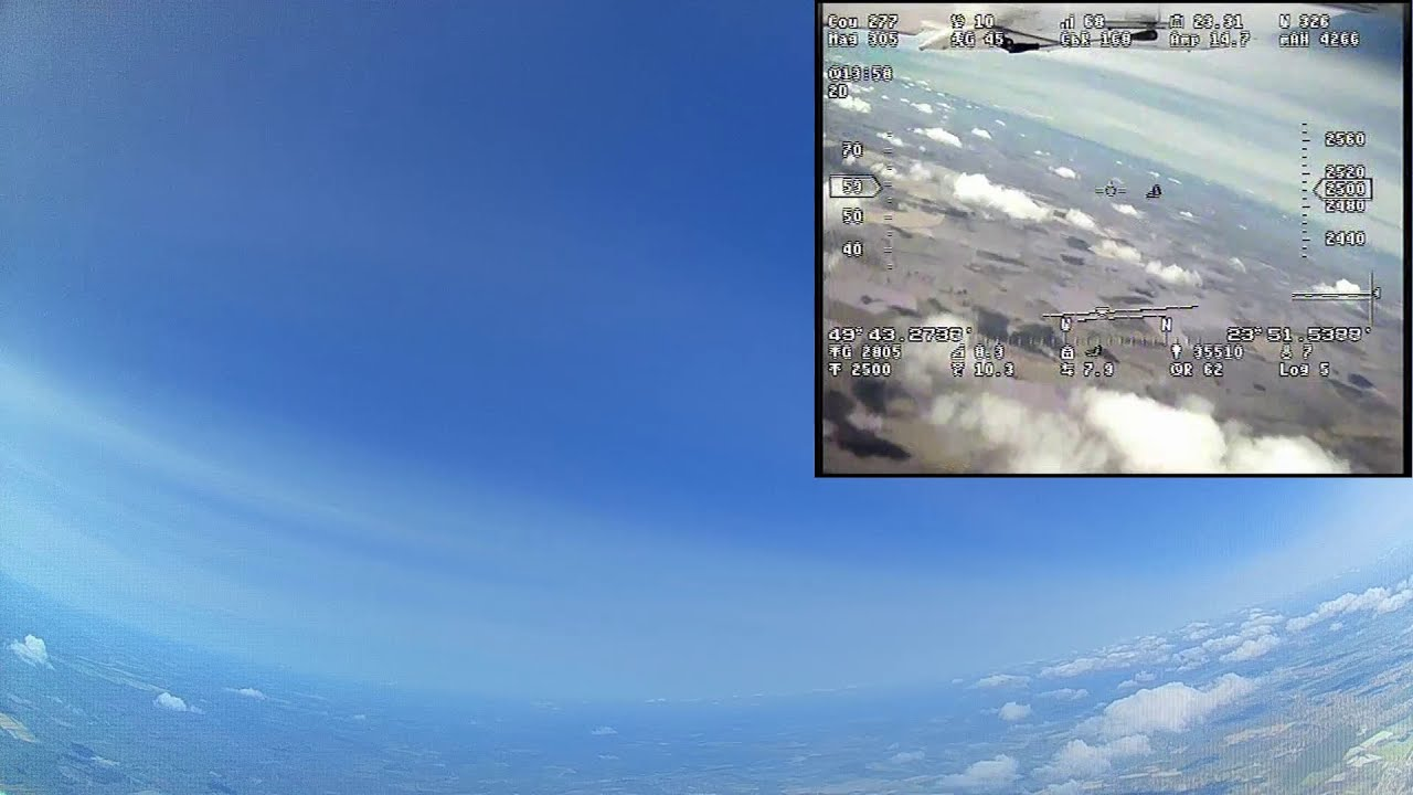 Believer - 7800m high altitude FPV flight фотки