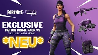 Neues *TWITCH PRIME PACK 3* Concept! | Fortnite Twitch Prime Pack 3