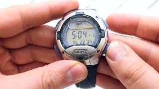 часы Casio Illuminator W-753V-2A W-753V-2AVEF - видео обзор от PresidentWatches.Ru