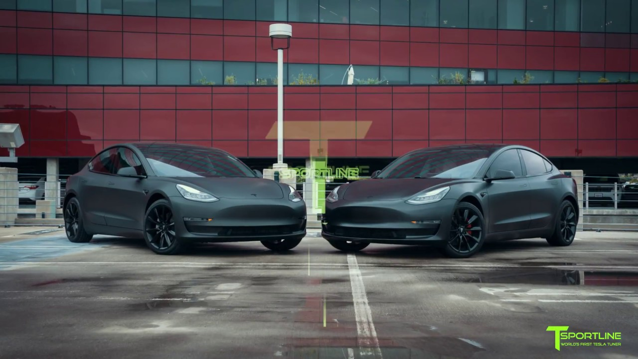 Matte Black Vs Satin Black Tesla Model 3 Which Would You Choose Youtube