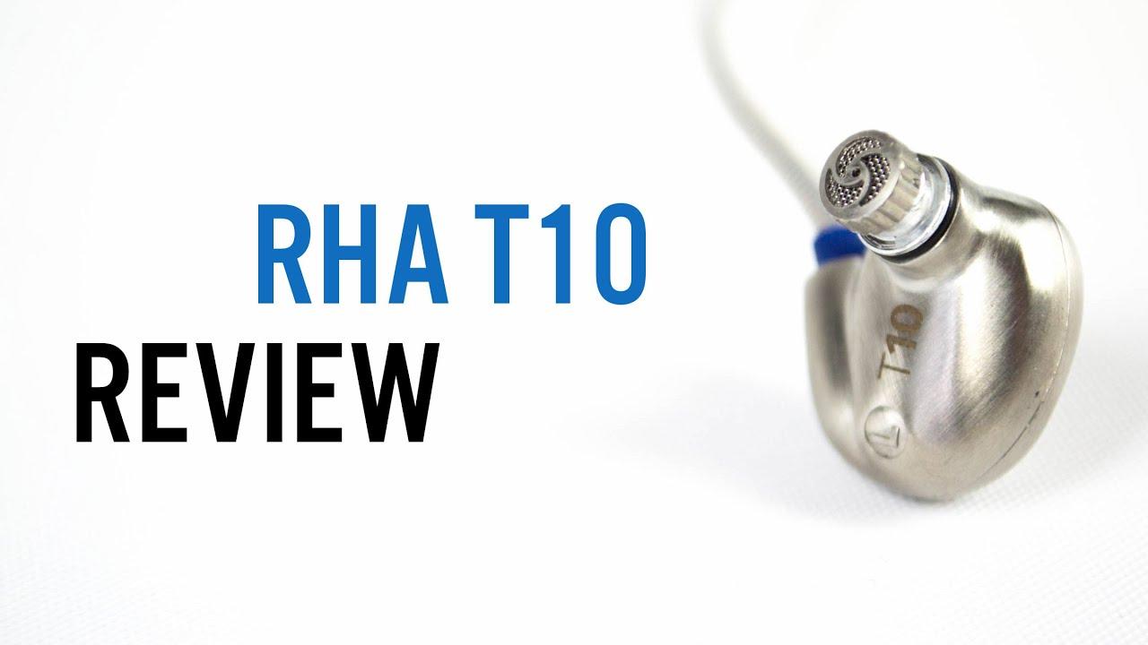 RHA T10 Silver
