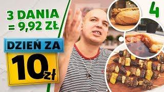 DZIEŃ ZA 10 zł - gotowanie za grosze - 3 PRZEPISY NA TANI POSIŁEK [odc. 4]