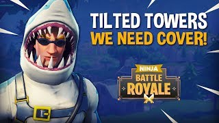Tilted Towers: We Need Cover!! - Fortnite Battle Royale Gameplay - Ninja