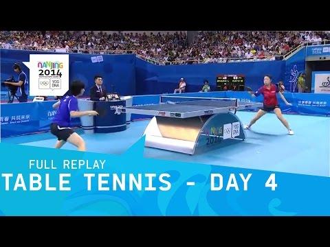 Table Tennis - Zhang vs Kato - Women's Bronze | Full Replay | Nanjing 2014 Youth Olympic Games