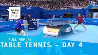 Table Tennis - Zhang vs Kato - Women