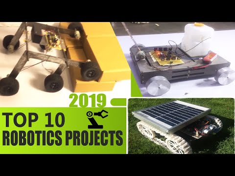 Top 10 Robotics Projects of 2018