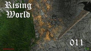 Lets Play Rising World #011 [German/Reupload] Holz für unseren Boden